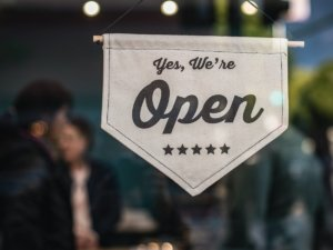 small business is open