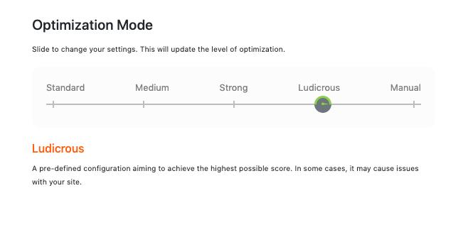 Ludacris mode nitropack