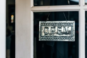Open sign for LocalBusiness schema post